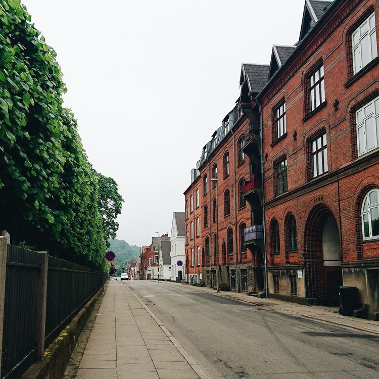 denmark, vejle, street, architecture - themoonlitroad | ello