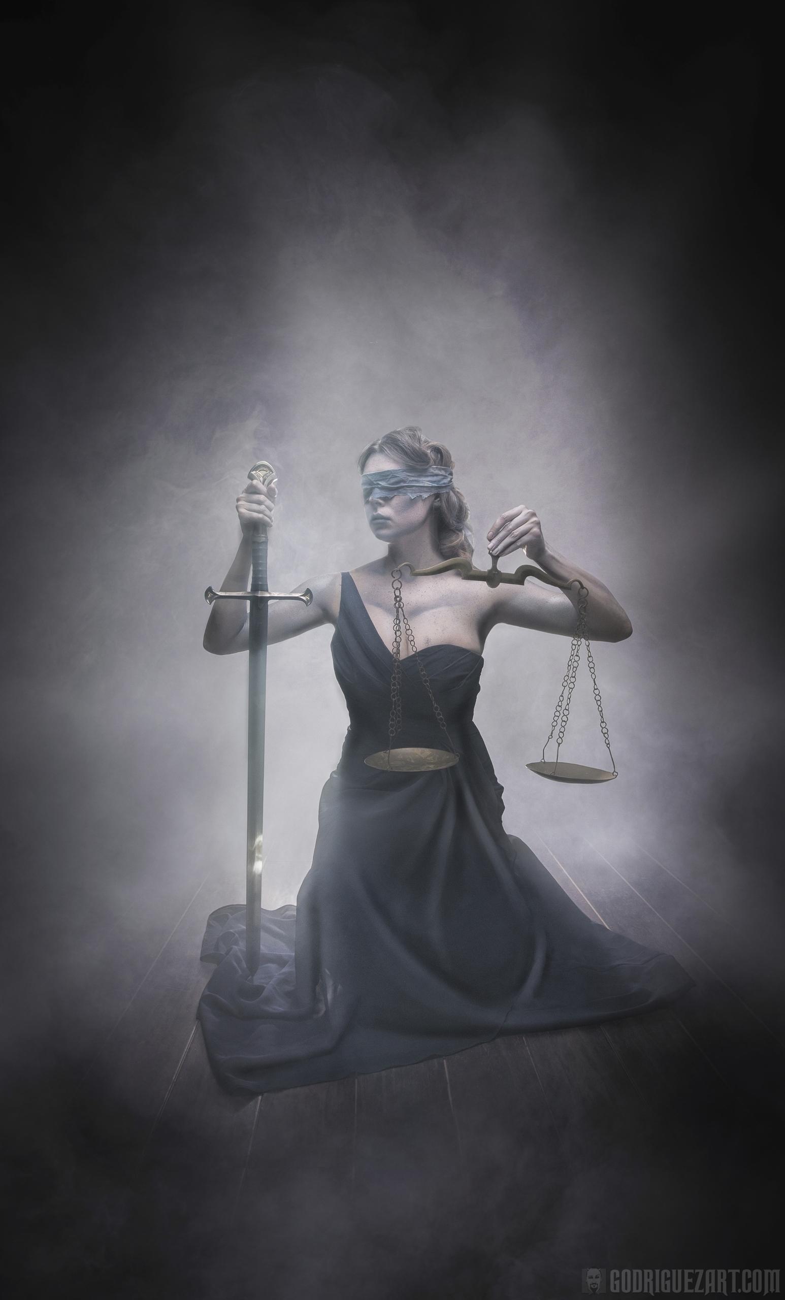 pulling strings, justice bit cr - godriguezart | ello