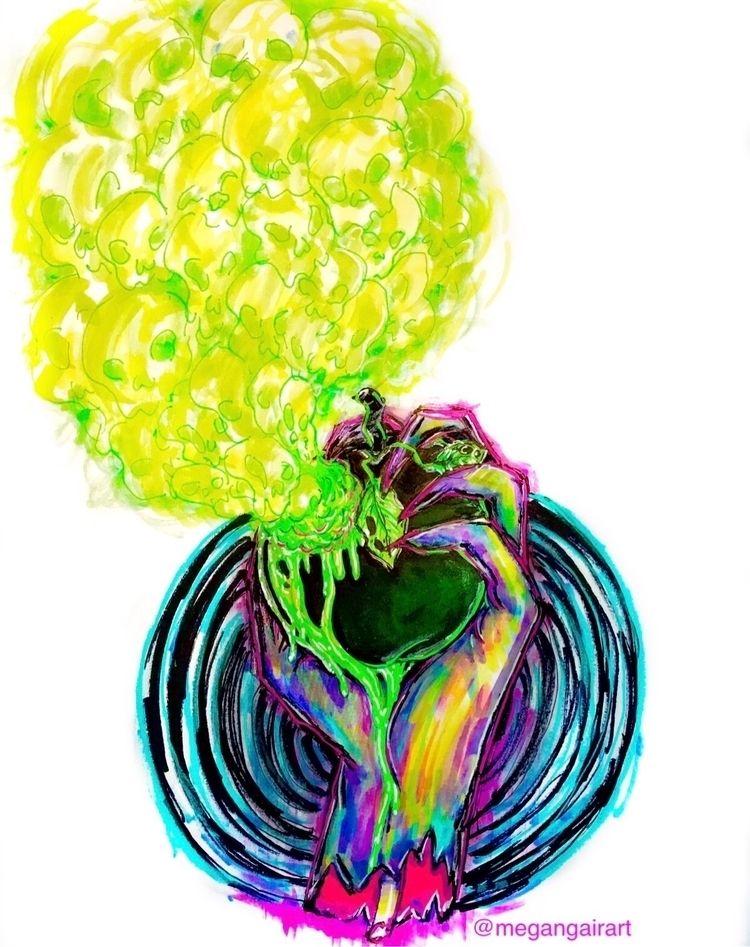 Sketchy poison apple illustrati - megangairart | ello