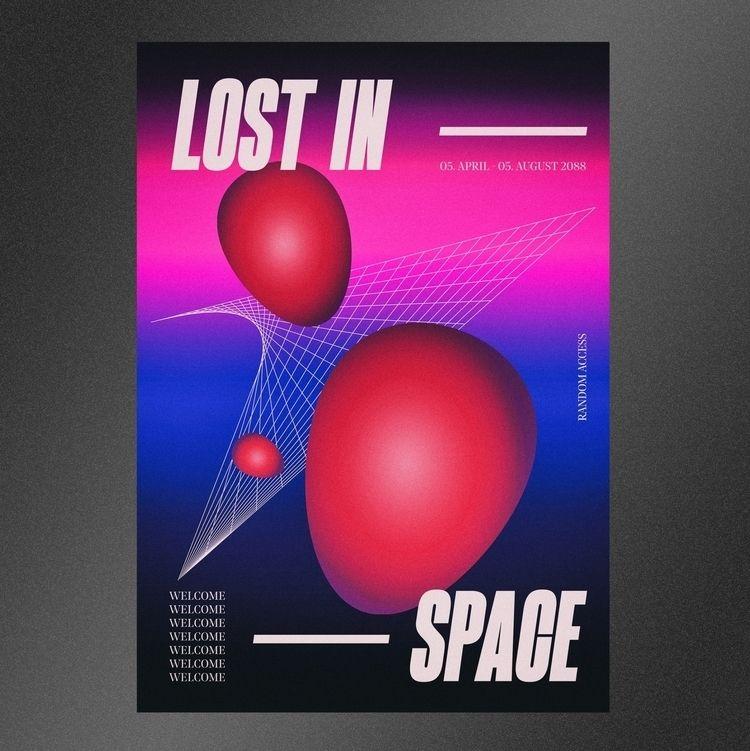 LOST - poster, posterdesign, graphicdesign - nakhon | ello
