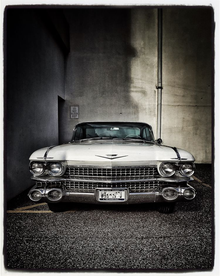 intimidation.... Cadillac Coupe - russell2 | ello