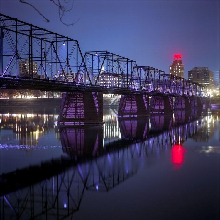 Walnut St. Bridge, Harrisburg,  - danielregner | ello