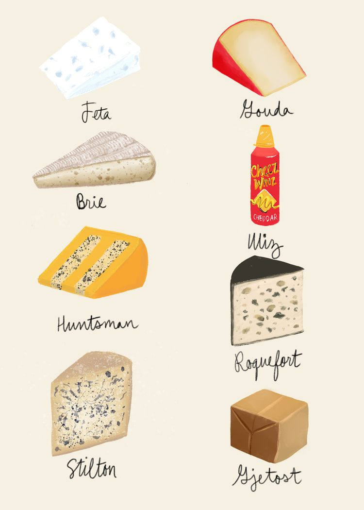 Good Cheeses - meredithjensen | ello