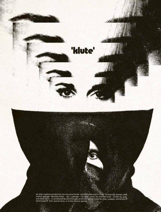 Klute, JaneFonda, MoviePoster - robogiggles | ello
