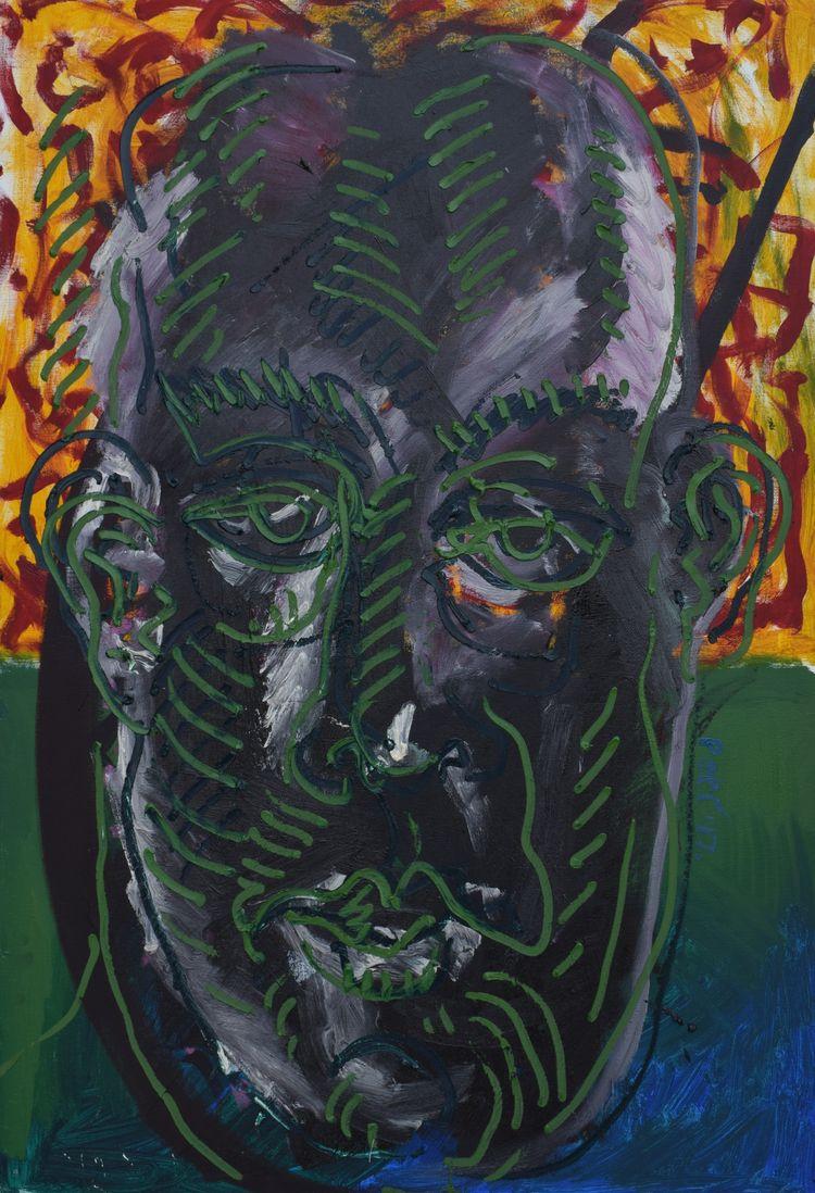 ''Portrait canvas/70x100cm/2017 - pepi_painter | ello