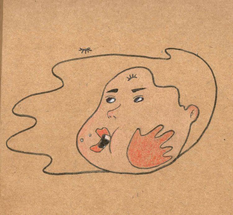 deserve slap - art, drawing, doodle - solhae | ello