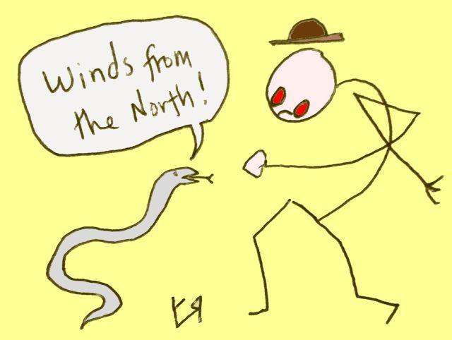 Encounter Weather Snake Richard - richardfyates | ello