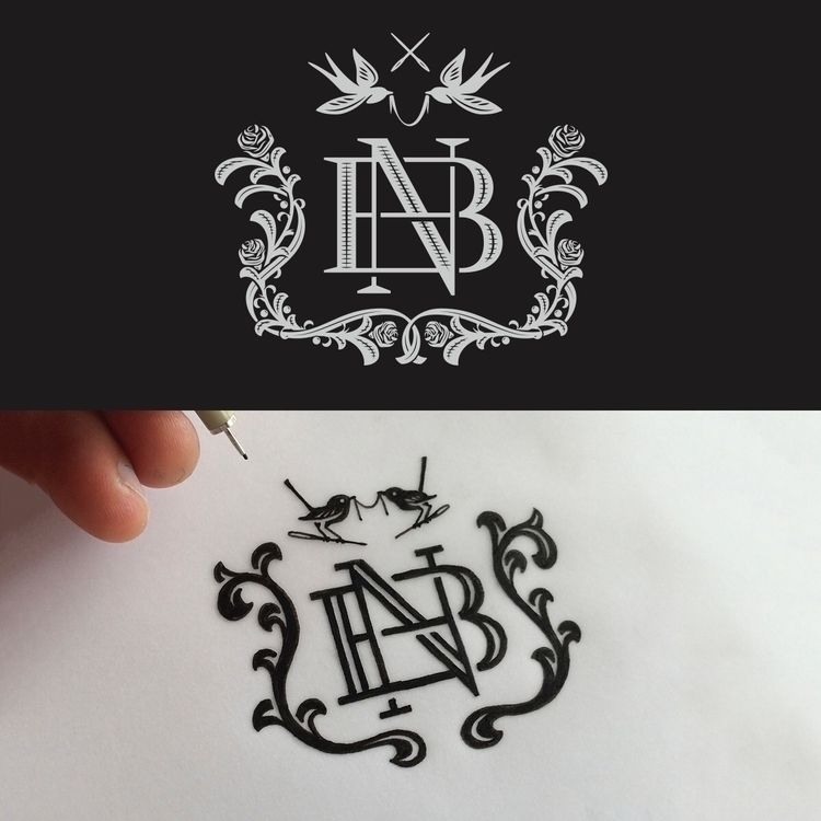 open crest monogram designed - logo - mattvergotis | ello