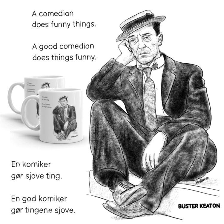 comedian funny - Art2u.dk - good - art2u | ello