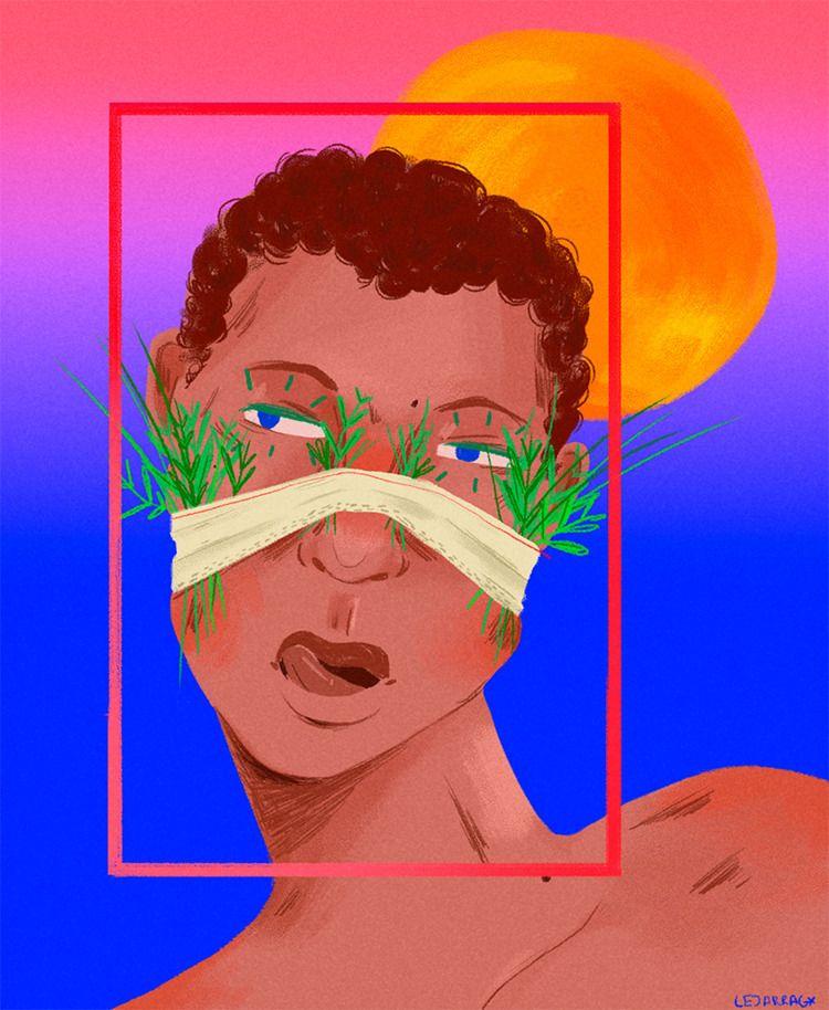 dusk, part iii - digitalart, art - elalejarg | ello