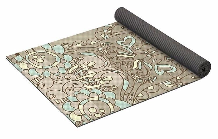 Fairy Smoke 2 Yoga Mat $80 purc - skyecreativeart | ello