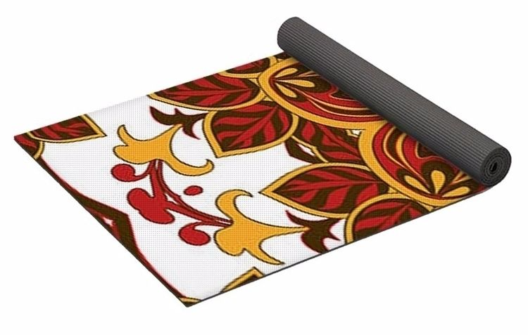 Royal 1 Yoga Mat $80 purchase,  - skyecreativeart | ello