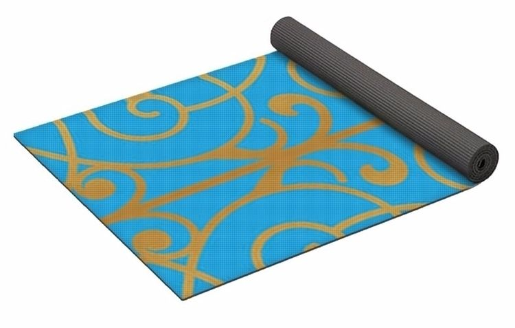 SkyeGold 1 Yoga Mat $80 purchas - skyecreativeart | ello
