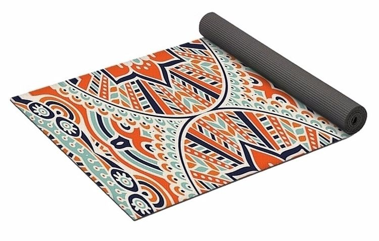 Mandala 2 Yoga Mat $80 purchase - skyecreativeart | ello