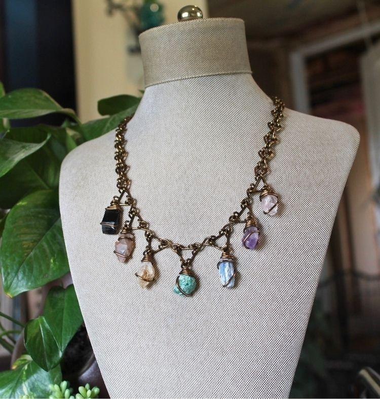 Chakra Necklace - gemstones, chakra - adamfjgreen | ello