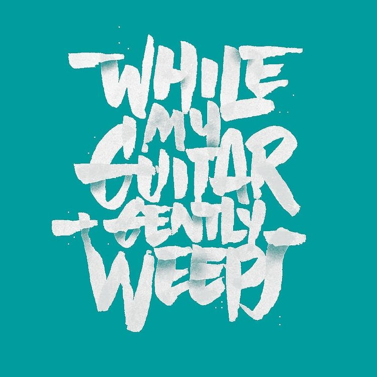Guitar Gently Weeps..  - art, design - tnmzdesign | ello