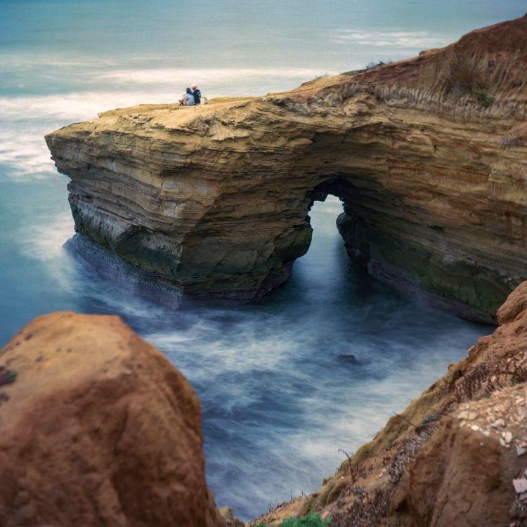 Sunset Cliffs Yashica Kodak Ekt - danielregner | ello