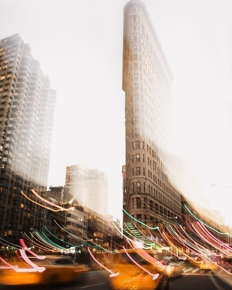 York, York - NYC, FlatIronBuilding - philippkurz | ello