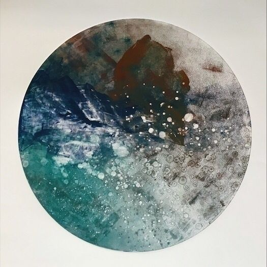 Planetoid | Marble Terrene Ink  - awingding | ello