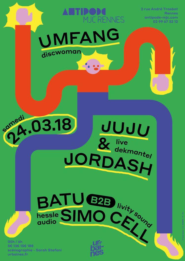Poster Antipode MJC avec Umfang - molonom | ello
