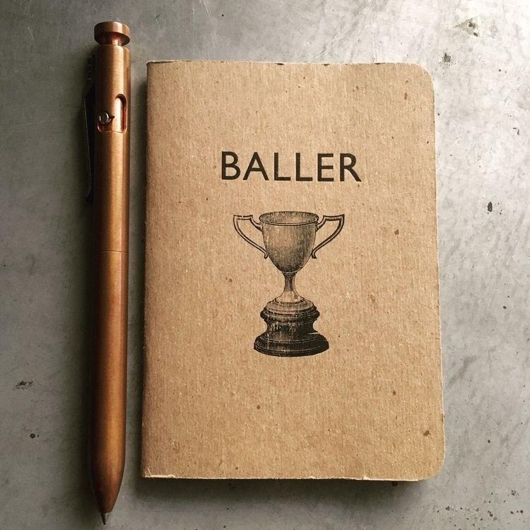 baller | pocket notebook - letterpress - sheasmith | ello