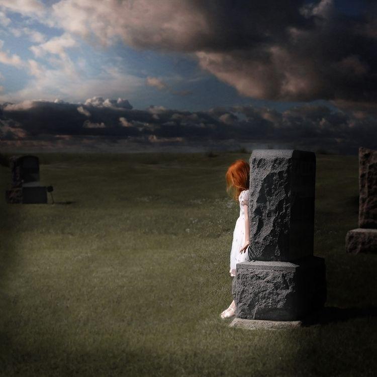 Funeral Girl 2017 Alissa Coddin - alissacoddington | ello