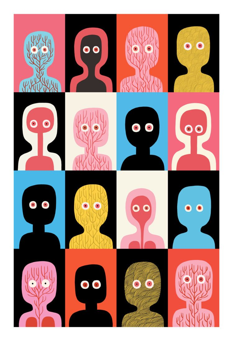 Ghosts limited edition print cr - jackteagle | ello