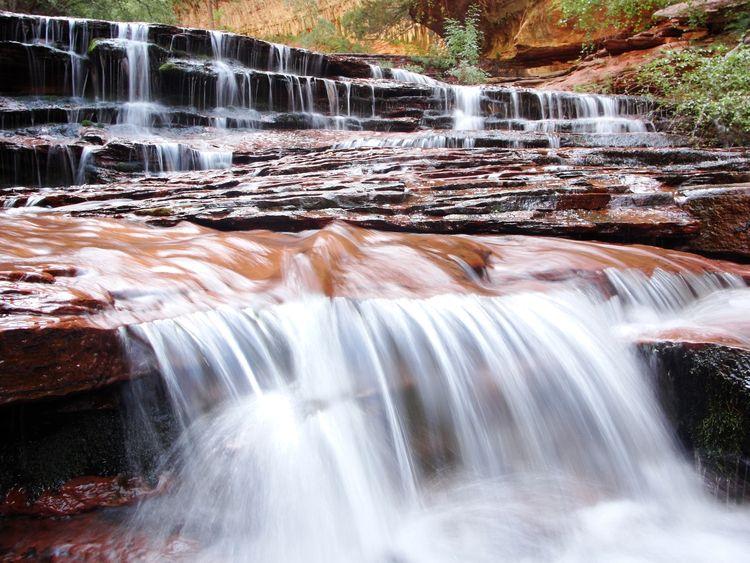 Ribbons Water Canyon Cliffs - tipster   ello