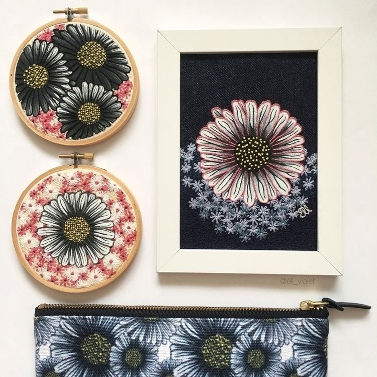 Small Daisy Trio / Field Flower - ell_violet | ello