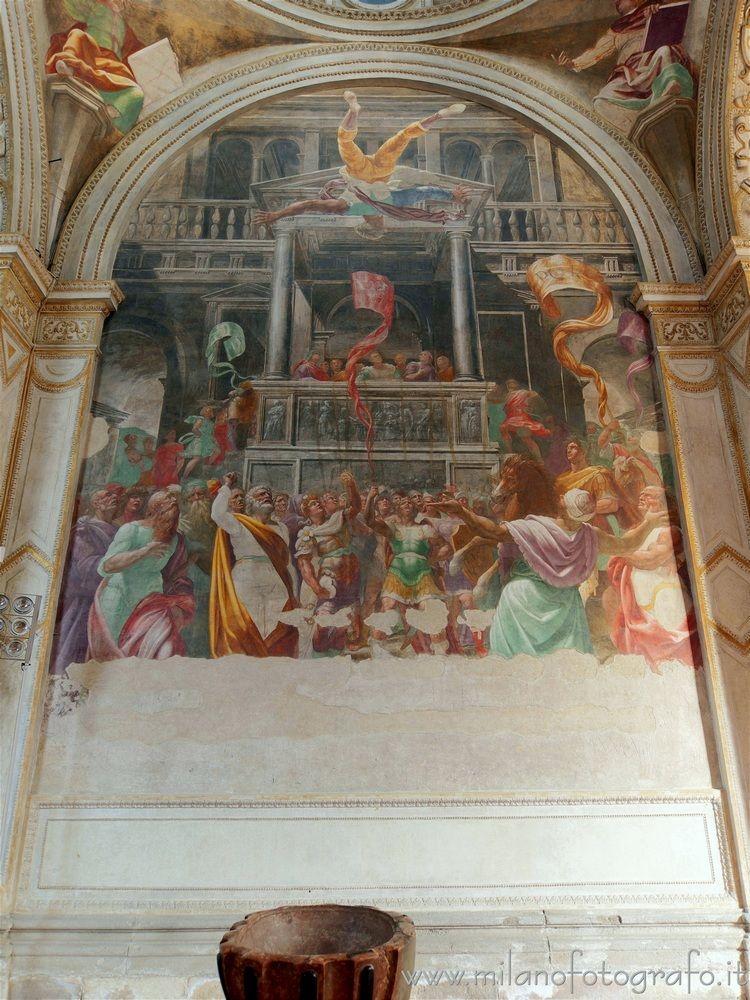 Milan (Italy): Fresco San Pietr - milanofotografo | ello