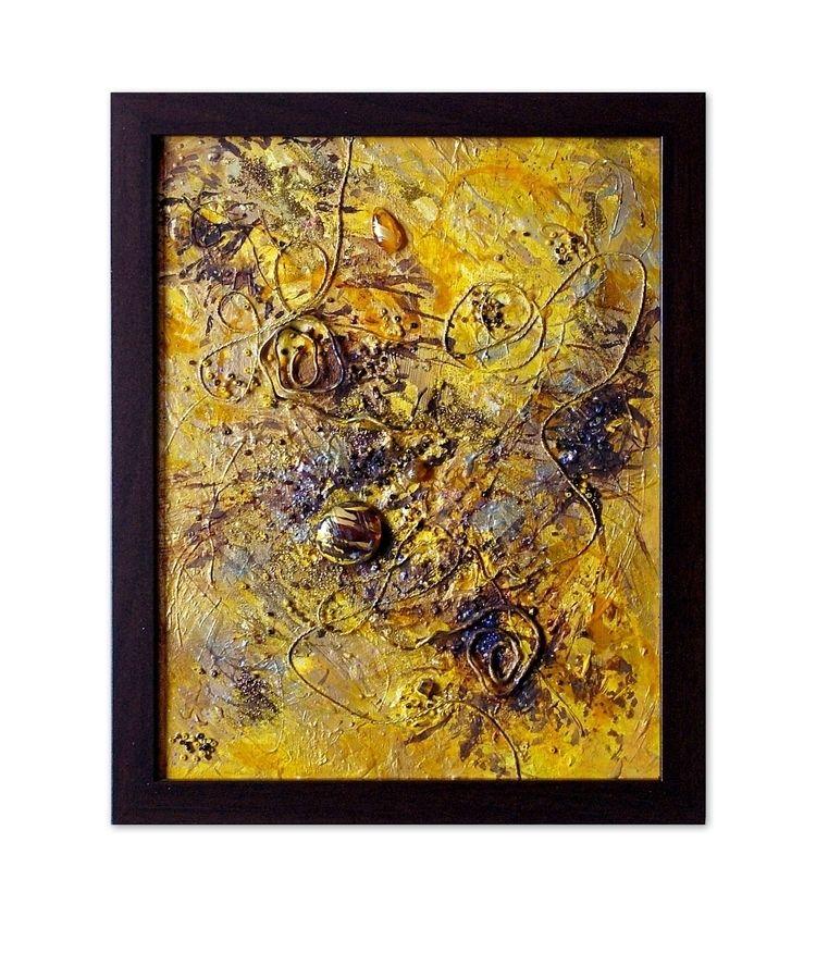 Bee 27 33 3 cm framed cardboard - artizmoksa   ello