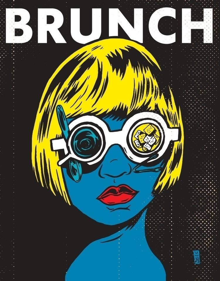 Brunch - popart, art, illustration - thomcat23 | ello