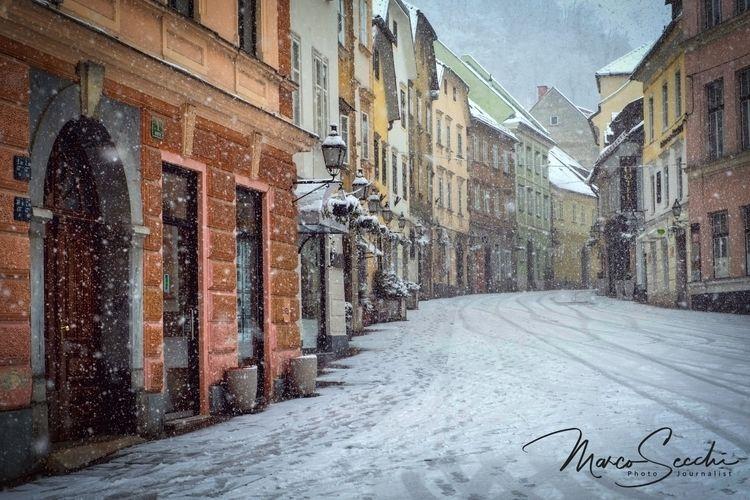 Snow Ljubljana - Slovenia - photography - msecchi | ello