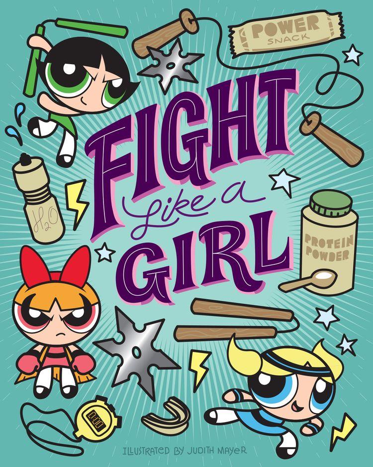 Concept (fan art) book cover - powerpuffgirls - judithmayer | ello