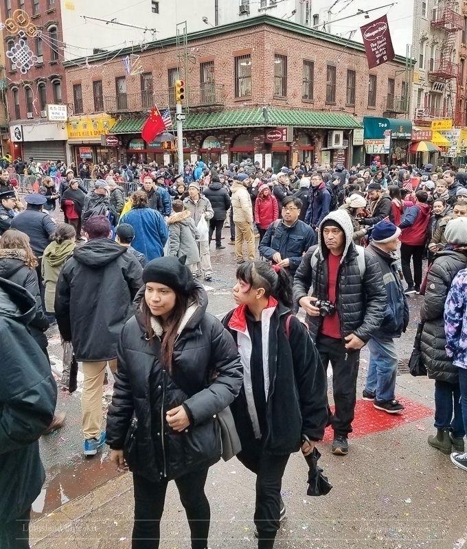 Chinese Year parade street full - wlotus | ello