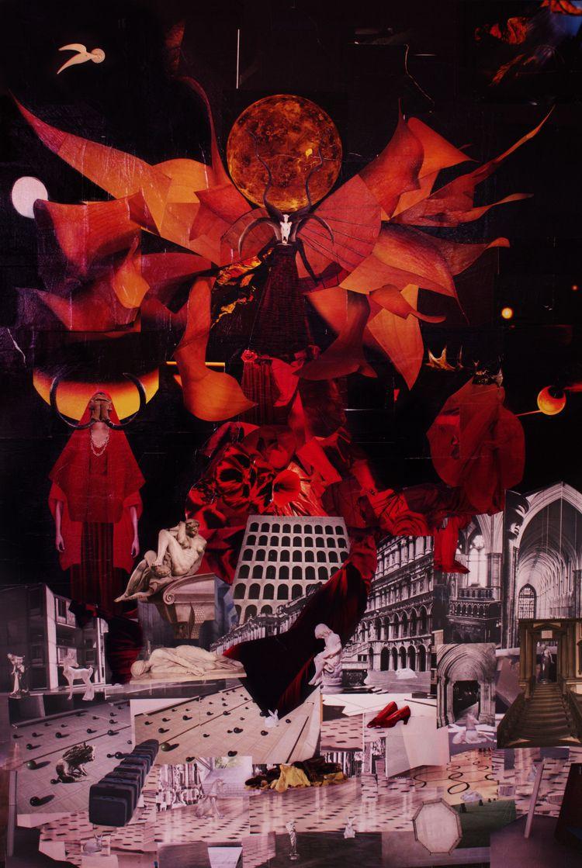 Wicked Crimson Skull Sisters Ci - precog80 | ello