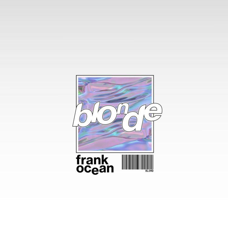 Frank Ocean Blonde Album Cover  - indigoes | ello