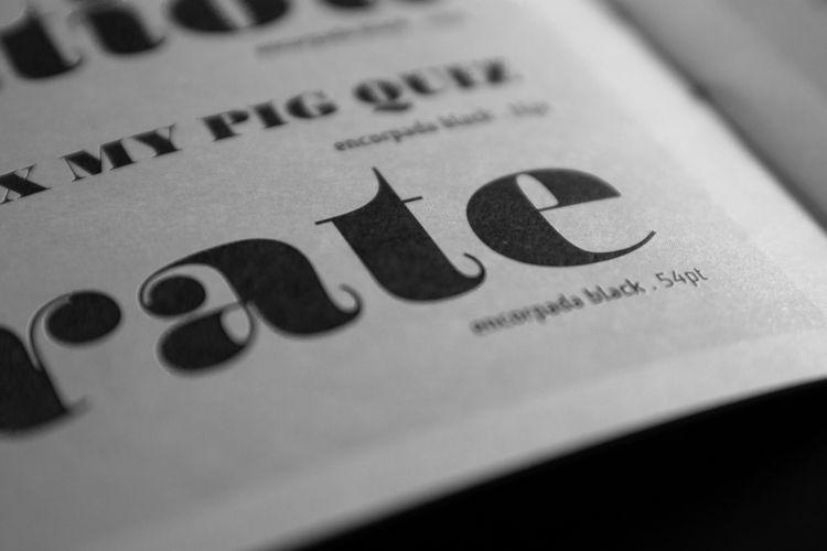 Encorpada Pro - typedesign, typography - eduilsoncoan | ello