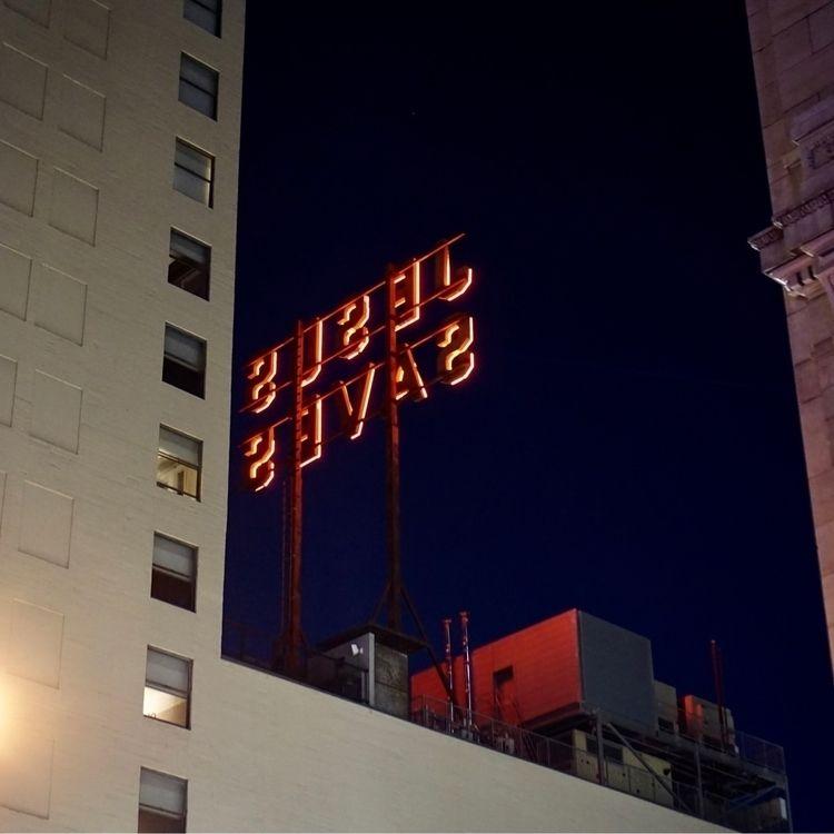 Jesus Saves - Downtown LA - pamm00re   ello