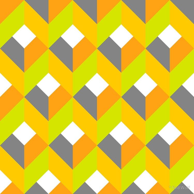 Geometric Pattern: Box: Citrus  - red_wolf | ello