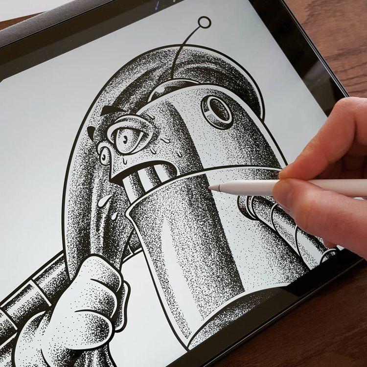 dude - illustration, drawing, design - jferreirastudio | ello