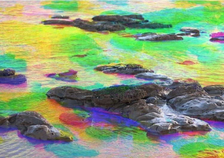 Colour layering Rockpool Graphi - joshyknowles | ello
