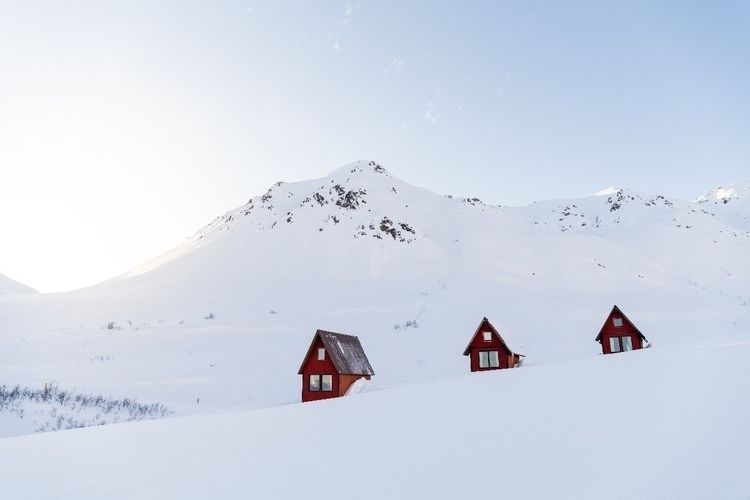 cabins Hatcher Pass - alaska, photography - aphotosmith | ello