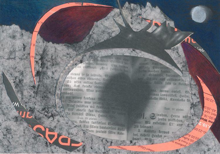 work dreamworlds Call Alex Perz - papiergedanken-collage-art | ello