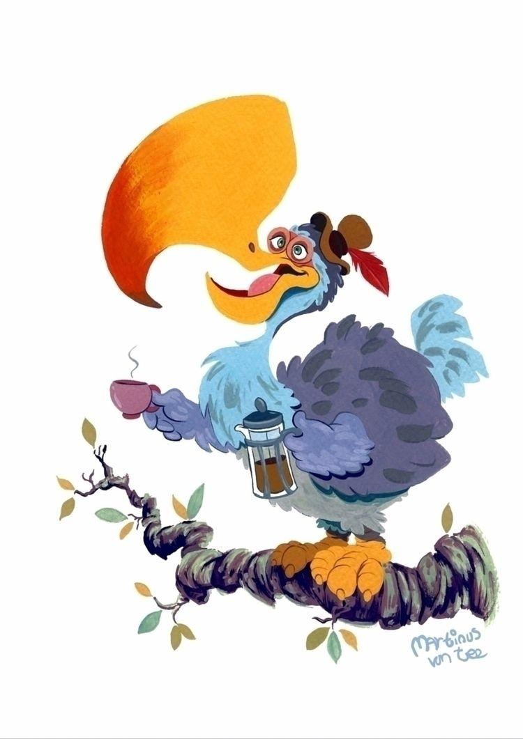 Good Morning Dodo! colourful, c - terrapinandtoad | ello