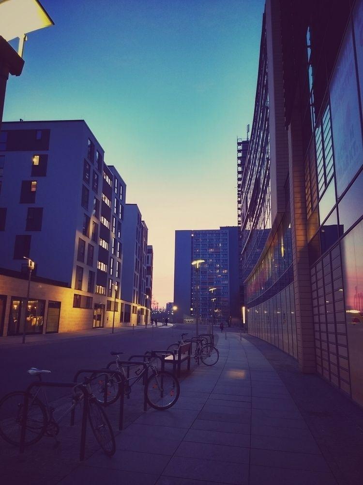 evening, sunset, street, city - claudio_g_c | ello