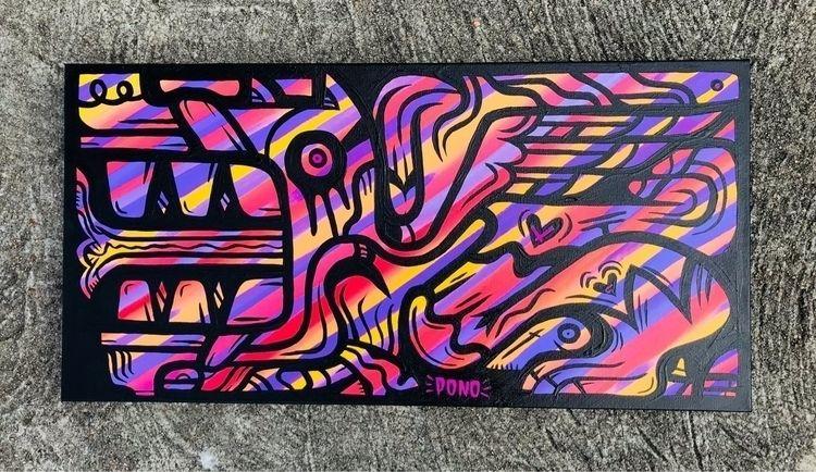 Gargoyle - pono, painting, spectrum - pono | ello