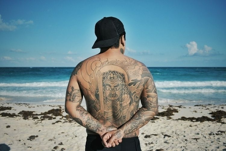 Juan - photo, sea, tattoo, photography - underrdog | ello