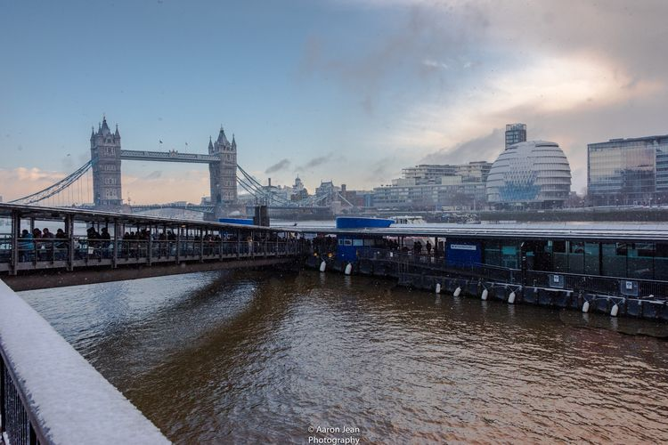 Thames London Snow, Series- Num - aaronphotography | ello