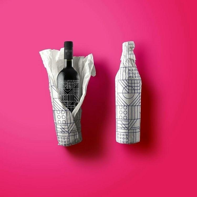 ... wine  - packaging, pattern, graphicdesign - nancykouta | ello